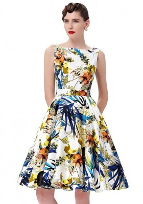 audrey-retro-tropical-floral-swing-dress