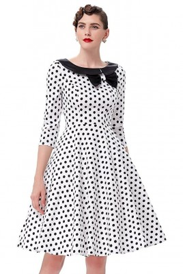 ellie-white-and-black-polka-dress