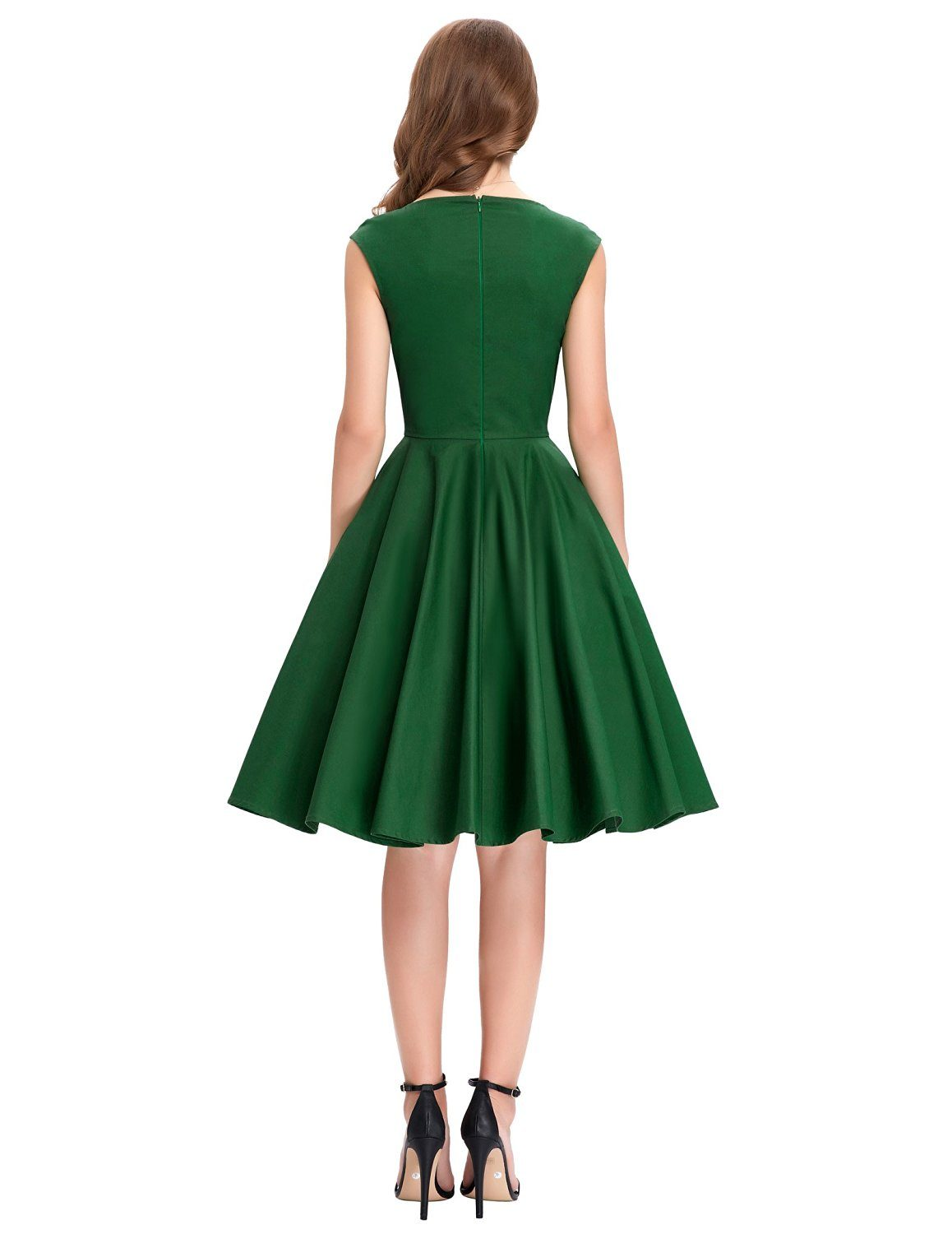 tiffany-green-sweetheart-swing-dress-back