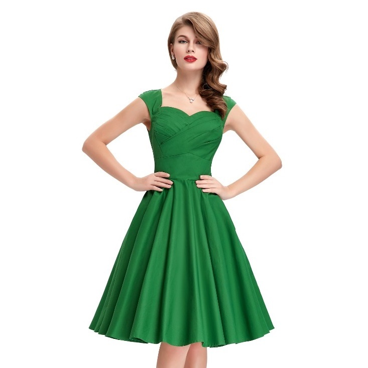 Tiffany green sweetheart swing