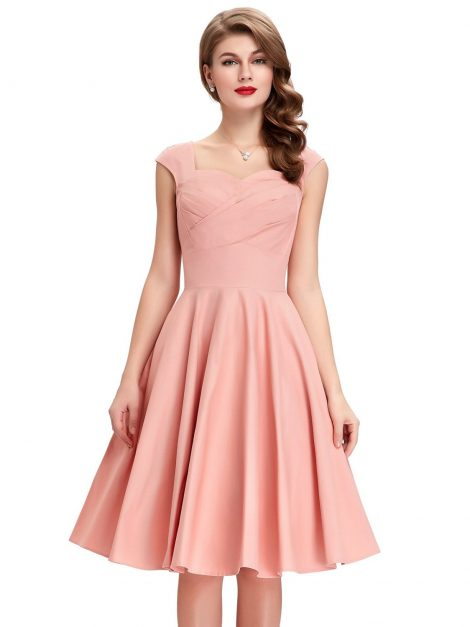 tiffany-peach-sweetheart-swing-dress
