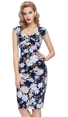 gloria-floral-vintage-pencil-dress