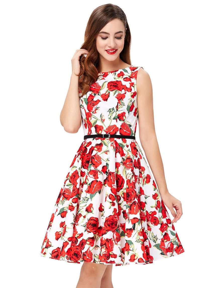 1cdc91cf54d1 Rosie Retro 50s Swing Dress | Vintage Clothing Online - 1950s Glam