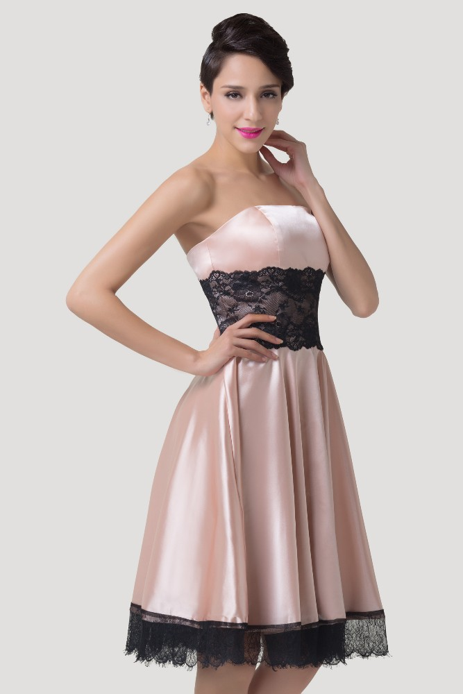 Pretty In Pink Satin Evening Dress Vintage Clothing