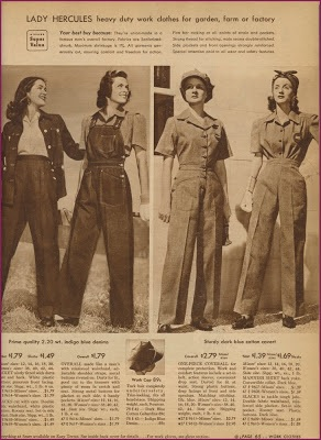 1943 vintage Sears catalogue