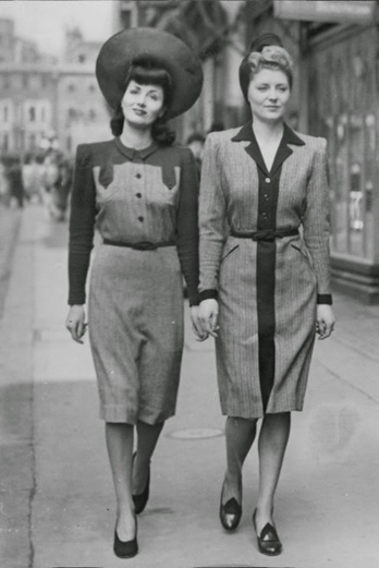 Two women London 1942