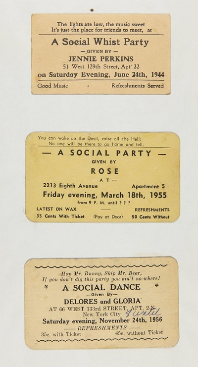 Vintage Rent Party Card Invitations