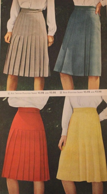 late 1940s skirts