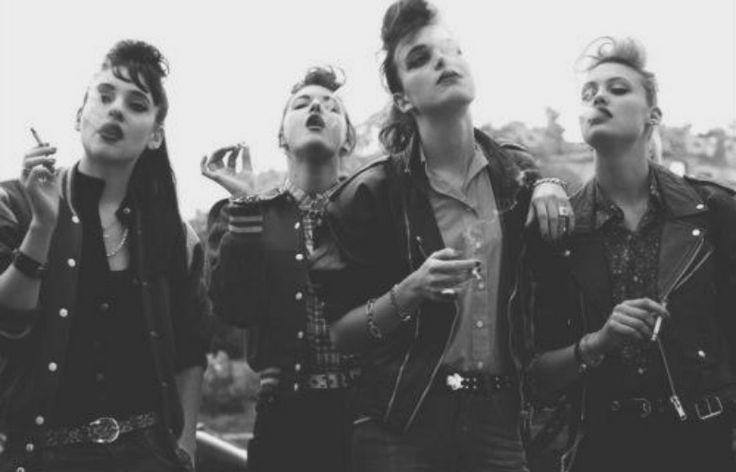 Greaser girls from The Outsiders