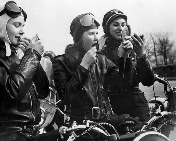 Ladies biker gang 1950