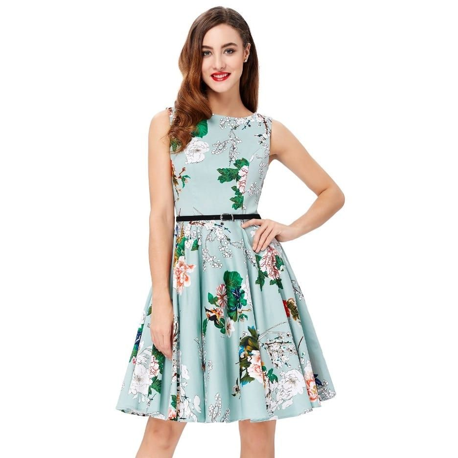 Arabella vintage tea dress