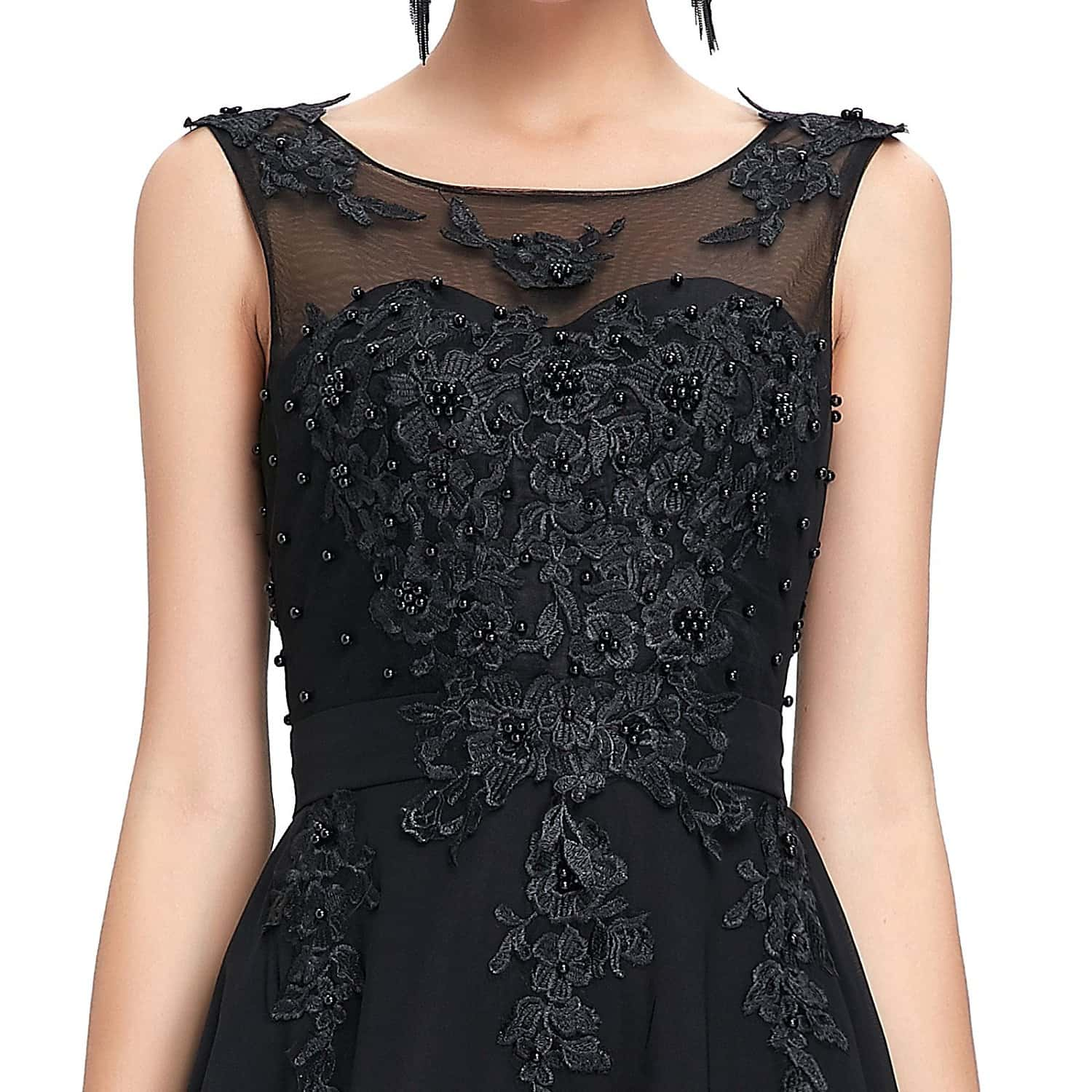 Black Beaded Vintage Dress Vintage Clothing Online