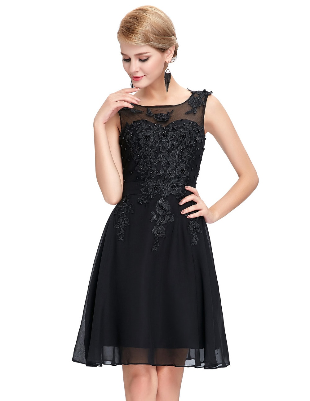 Shop affordable beaded dresses perfect for wedding receptions, prom night, cocktail parties, and more, available in petite and plus sizes. Little Black Dresses Little White Dresses Maternity Friendly Dresses Work Dresses Shop by Occasion Our collection offers everything from beaded cocktail dresses.