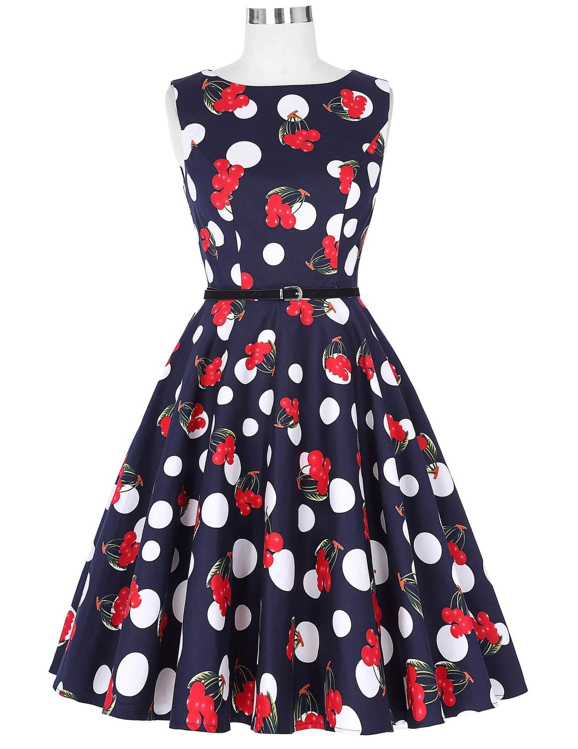 Cherry Bubble Retro Dress Vintage Clothing Online