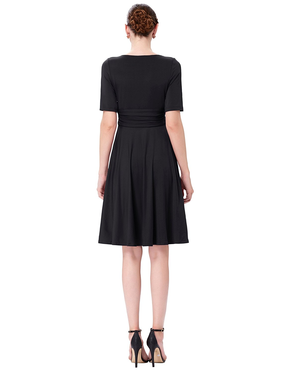 Classically Me Black Retro Dress Vintage Clothing Online