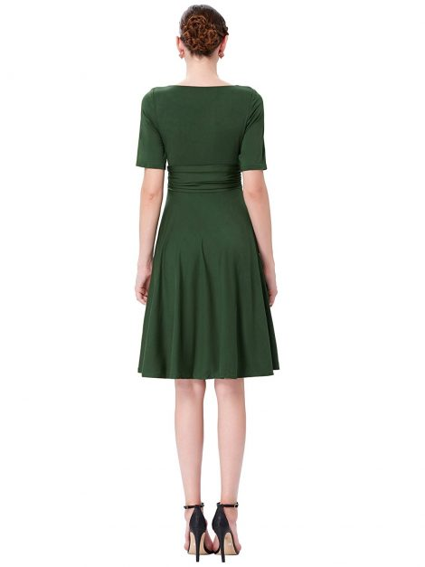 classically-me-forest-green-retro-dress-back
