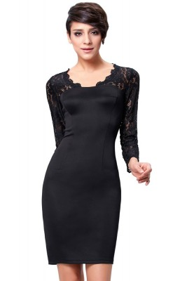 femme-fatale-black-retro-dress