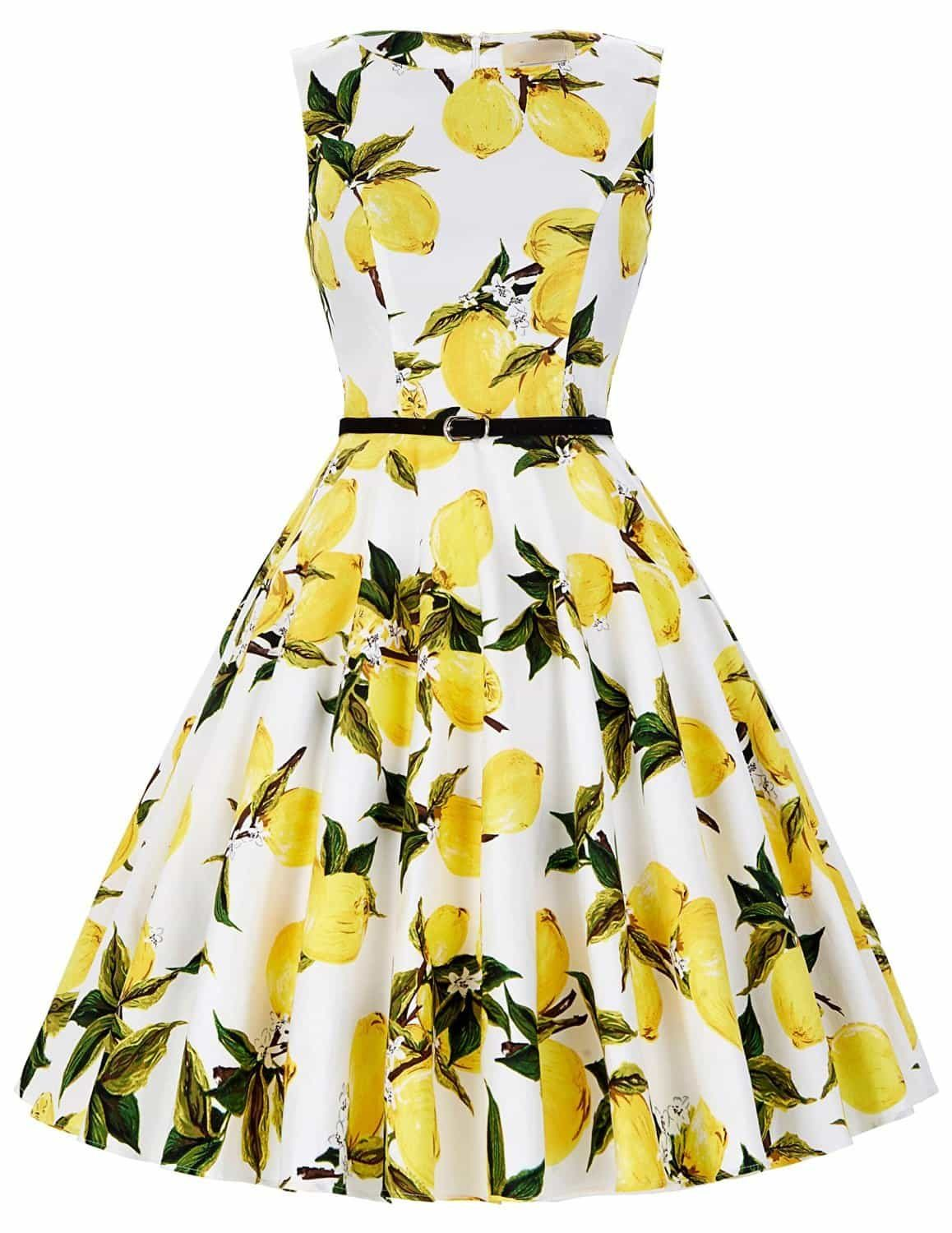 lemonade-retro-swing-dress