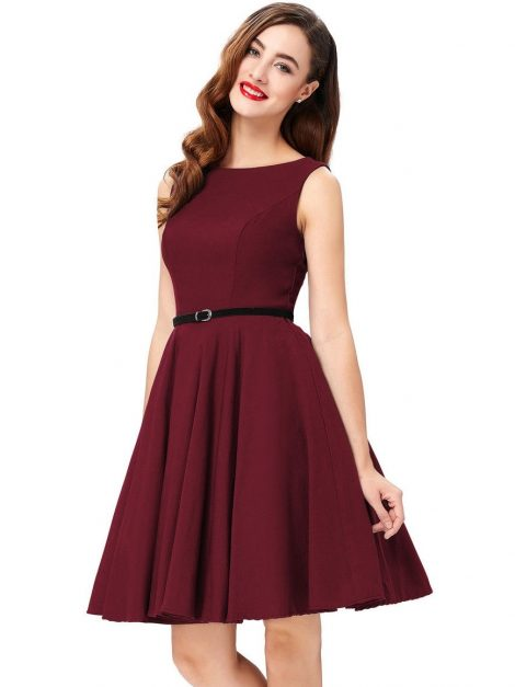 the-classic-audrey-burgundy-50s-dress