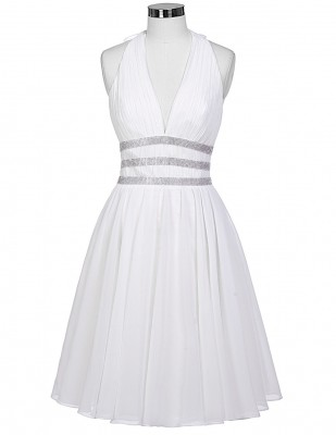 white-chiffon-halter-pin-up-dress