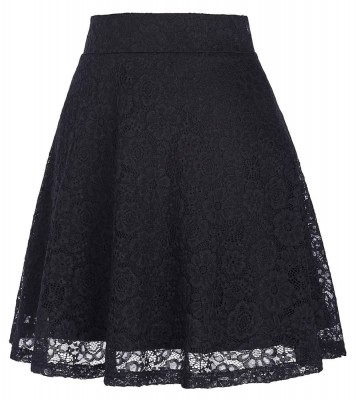black-lace-vintage-skirt