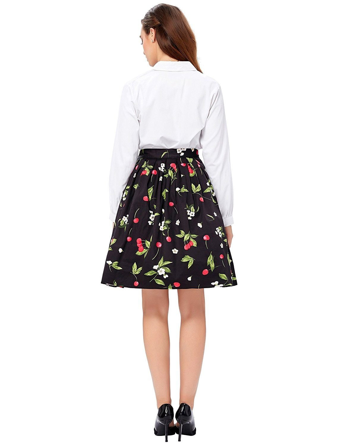 cherry-retro-swing-skirt