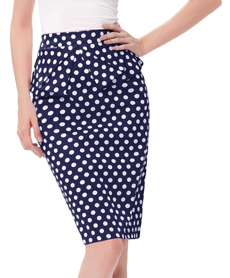Shop for and buy polka dot skirt online at Macy's. Find polka dot skirt at Macy's. Macy's Presents: The Edit- A curated mix of fashion and inspiration Check It Out. Free Shipping with $49 purchase + Free Store Pickup. Contiguous US. ECI Plus Size Polka-Dot Pencil Skirt.