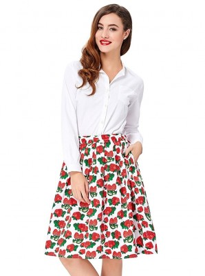strawberry-patch-retro-skirt