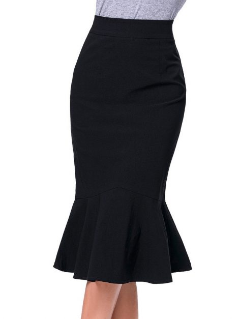 the-siren-black-vintage-skirt