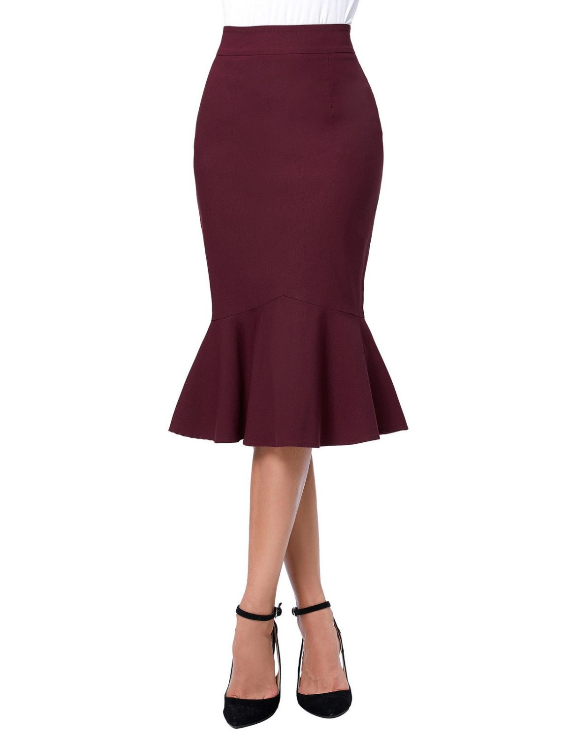 the-siren-burgundy-vintage-skirt