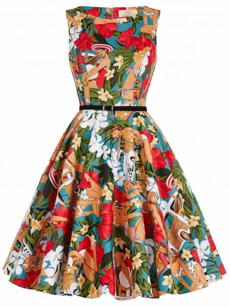 aloha-tiki-vintage-dress
