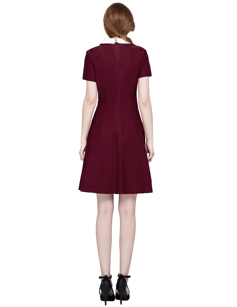 Amber Burgundy Vintage Dress Vintage Clothing Online