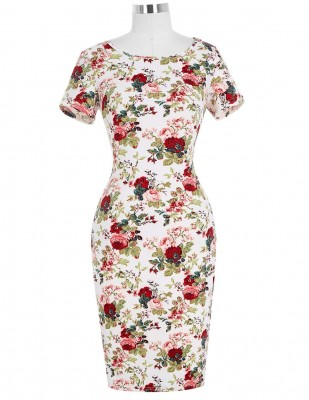 gabrielle-floral-50s-wiggle-dress