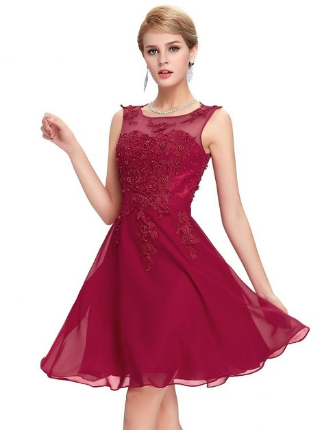wine-red-beaded-vintage-dress