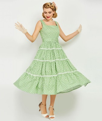 clementine-green-polka-dot-swing-dress