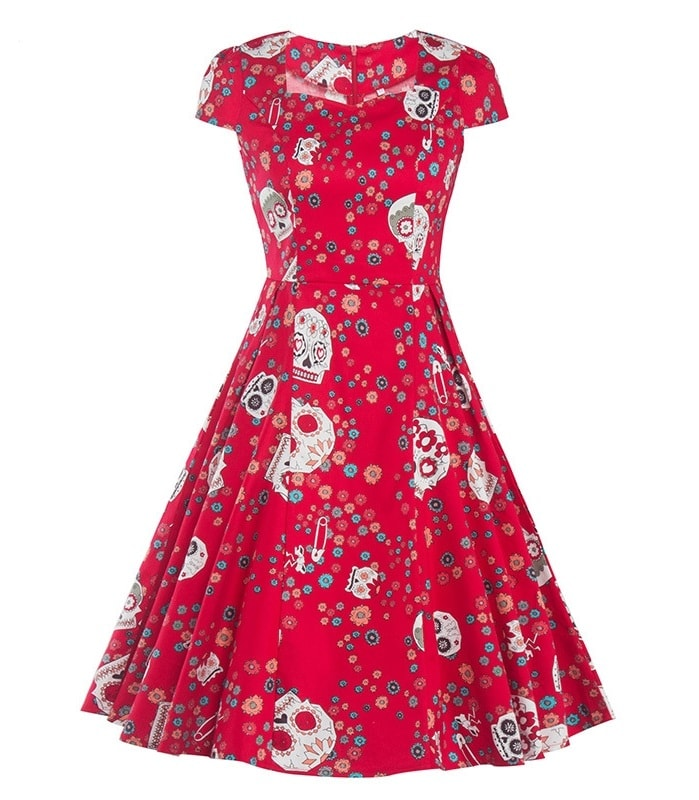 Day Of The Dead 50s Dress 1950sglam