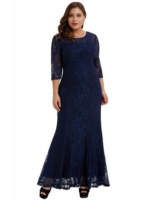 josephine-plus-size-navy-blue-lace-retro-dress