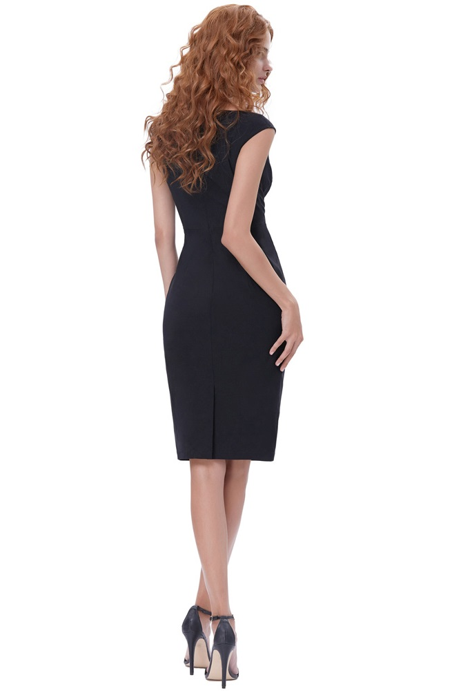 true-love-black-retro-pencil-dress-back
