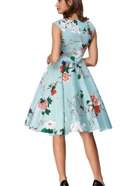 arabella-sweetheart-floral-50s-dress-back