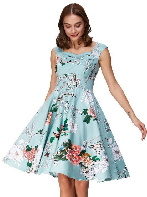 arabella-sweetheart-floral-50s-dress