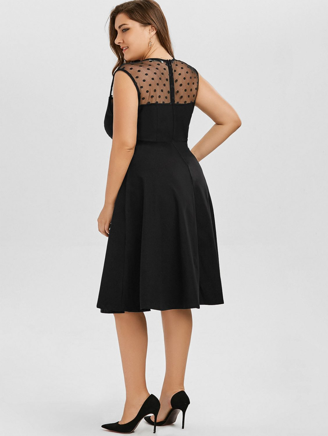 katie-plus-size-black-retro-dress