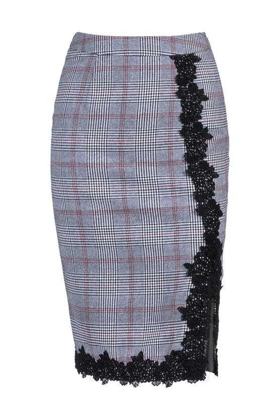 linda-grey-check-vintage-style-pencil-skirt