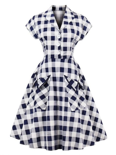 matilda-blue-gingham-retro-shirt-dress