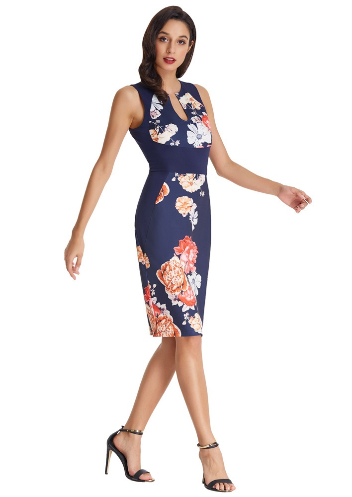navy-blue-floral-50s-style-pencil-dress
