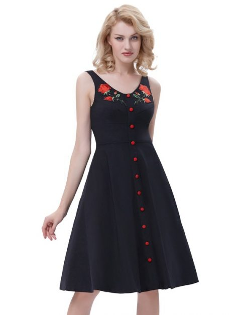 true-love-black-embroidered-retro-dress