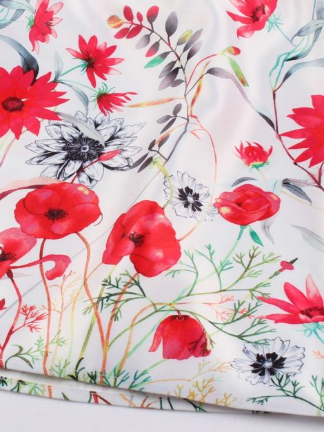 wildflower-red-and-white-retro-skirt