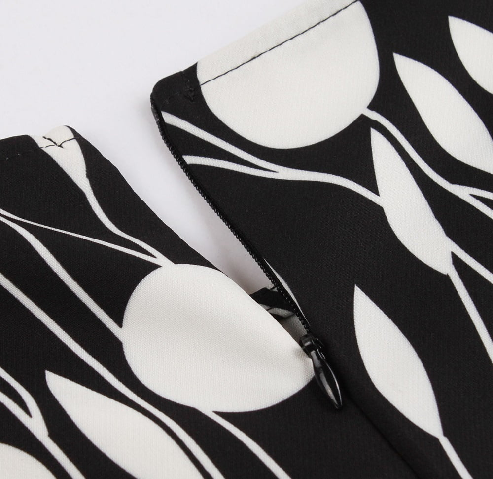 irene-black-and-white-contrast-50s-dress