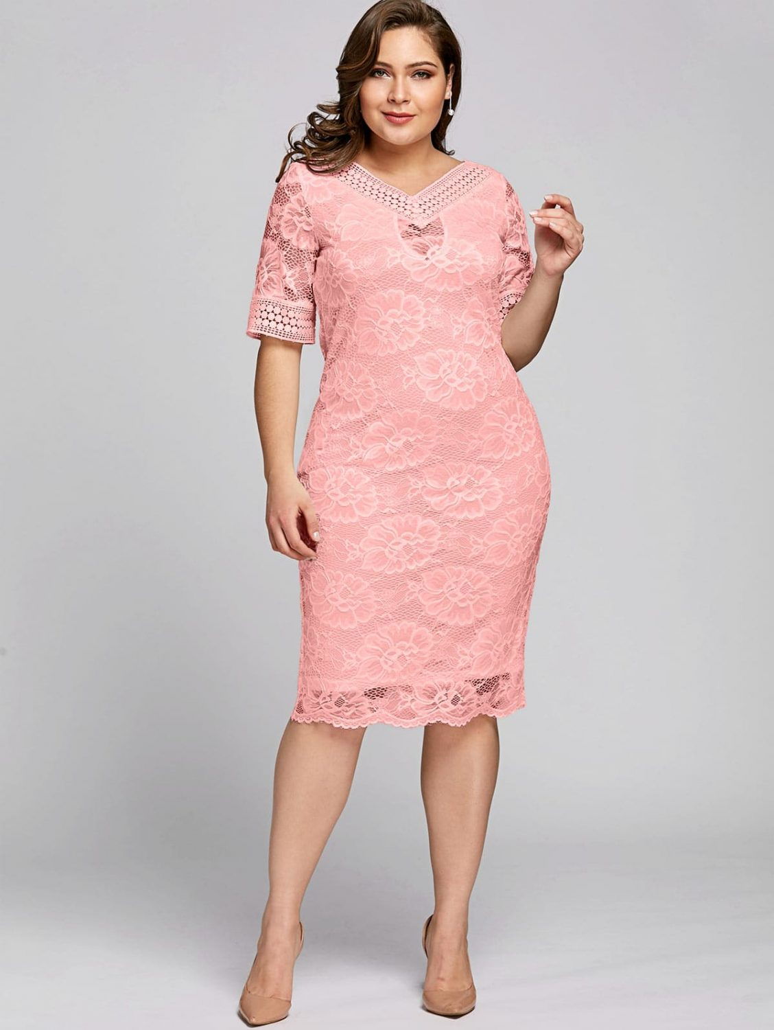 sandra-pink-lace-plus-size-occasion-dress