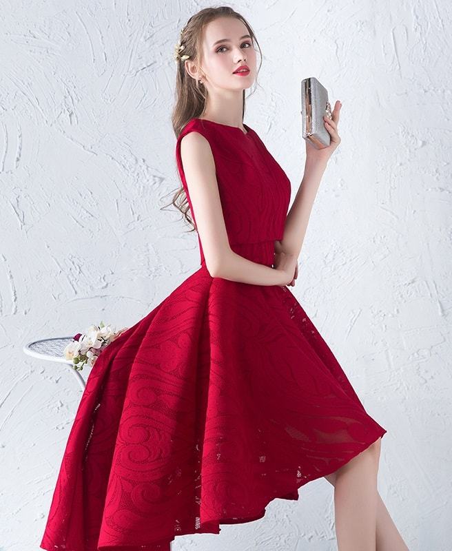 theresa-red-organza-asymmetrical-prom-dress-with-matching-bolero