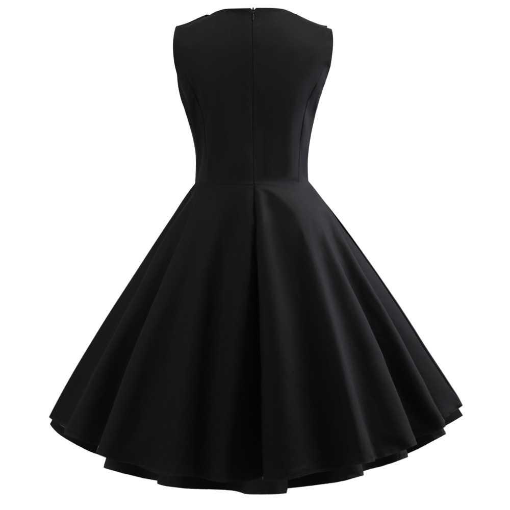 Kitty Cat Black 50s Dress Vintage Clothing Online